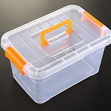 Kitchen Organization Storage Boxes Plastic Easy to Use 1pc #06612908