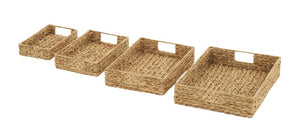Amazing Set Of 4 Sea Grass Baskets