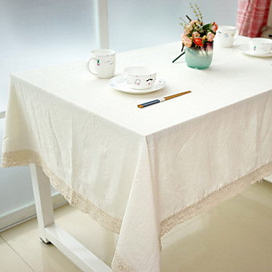 Cotton Blend Table cloths Print Table Decorations 1 pcs #06050575