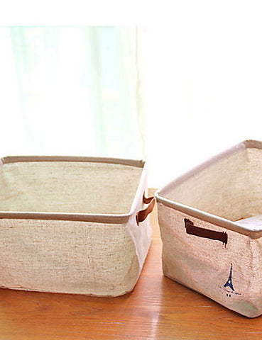 Storage Simple / Foldable Ordinary Polyester 1pc Bath Organization #06730435