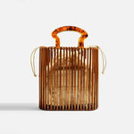 Stylish Beach Simple Acrylic Woven Handbag