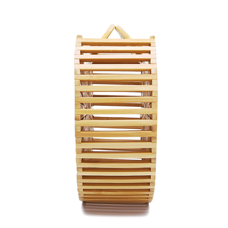 Bamboo Made Handbag Woven Beach Band Fashion Simple Style