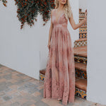 Spaghetti Strap Antonia Maxi Dress