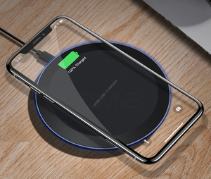 Tech Tronz Wireless Charger for iPhone & Samsung USB Phone Charger Pad