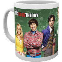 Big Bang Theory Deluxe  Mug - Veve Geek