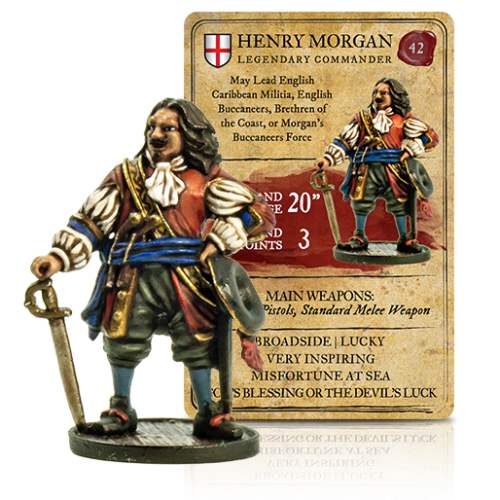 Blood and Plunder-Henry Morgan - Veve Geek
