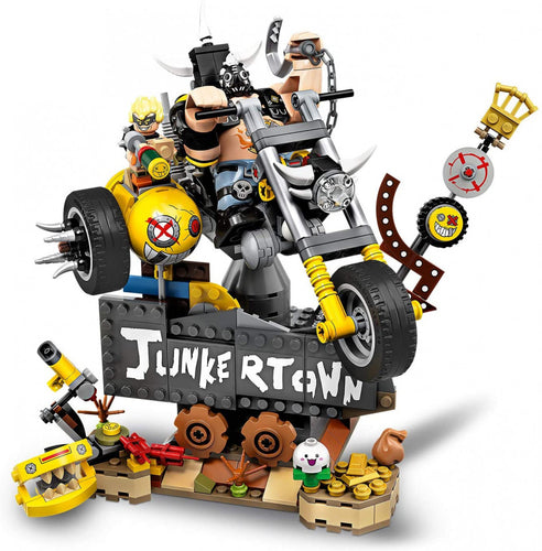 Overwatch Exclusive Set Junkrat and Roadhog- Limited quantity