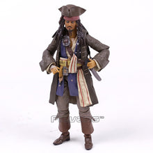 Load image into Gallery viewer, Pirates of the Caribbean Captain Jack Sparrow PVC Action Figure Collectible Model Toy with Retail Box - Veve Geek