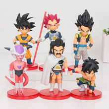 Load image into Gallery viewer, 6pcs/set Dragon Ball Z 8cm Son Gohan Son Goku Majin Buu Kale Jiren Cell Frieza Gotenks Broly Piccolo Beerus WCF Figure Model Toy - Veve Geek