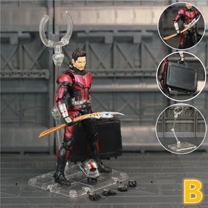 "Marvel Avengers 4 Endgame Ant Man 6"" Action Figure Unmasked Head Scott Lang Antman Legends With Loki Scepter KO's SHF Doll Toys - Veve Geek"