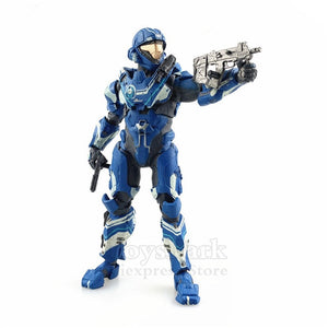 "Original Mcfarlane Toys Halo Series 5"" Action Figure Chief Spartan Halo Reach 5 4 3 2 1 Figura Doll Exclusive Collectible - Veve Geek"