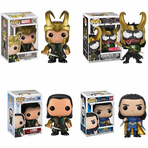 Funko PoP LOKI Marvel Avengers Unisex Vinyl Action Figure Character Juguete Collection Model Birthday Boy Girl Gifts Toys 2F51 - Veve Geek