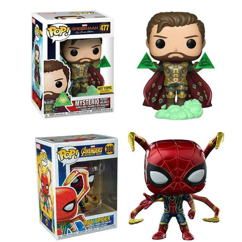 FUNKO POP Spider-Man Far From Home Brinquedos Marvel Mysterio PVC Action Figures Collection Model Toys for Gifts 2F75 - Veve Geek