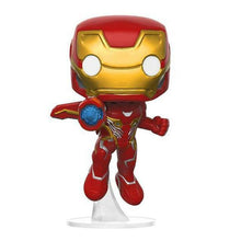 Load image into Gallery viewer, FUNKO POP Avengers Infinity War Thanos Captain America Iron Man Action Figure Thor Toy Spiderman Panther PVC Model Doll for Boy - Veve Geek