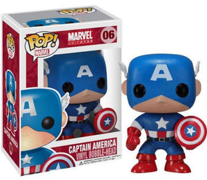 FUNKO POP Marvel Avengers Stan Lee Iron Man Captain America Collection Model PVC Action Figure Kids Toys Children Gifts - Veve Geek
