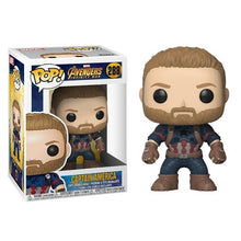 Load image into Gallery viewer, FUNKO POP Marvel Avengers Stan Lee Iron Man Captain America Collection Model PVC Action Figure Kids Toys Children Gifts - Veve Geek