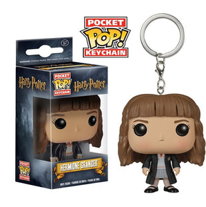 FUNKO POP New Arrival DOBBY HERMIONE DUMBLEDORE HARRI POTTER VOLDEMORT Keychain Action Figure Collection Toys for Children Gift - Veve Geek