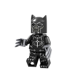 Legoings marvel series assembling man, black panther, purple wave, thunder, ebony, throat, panther Marvel's The Evengers - Veve Geek