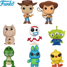 Load image into Gallery viewer, FUNKO POP Toy Story 4 Forky Rex Ducky Woody Brinquedos Vinyl Action Figures Cartoon Collection Model Anime Toys Gifts 2F09 - Veve Geek