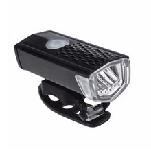 Load image into Gallery viewer, Bike Light USB Rechargeable 300 Lumen 3 Mode Bicycle Front Light lamp Bike Headlight Cycling LED Flashlight Lantern - Veve Geek