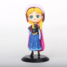 Load image into Gallery viewer, 12cm Qposket Q Posket Ariel Wonder Woman Harl Quinn Sleeping Beauty Mermaid Snow White Princess Rapunzel Belle Cake Wedding Toys - Veve Geek