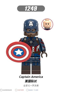 X0256 Legoingly Marvel ant Avengers captain Super hero Black widow Hawkeye Small pepper Raytheon Building module toy Children's - Veve Geek