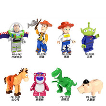 Load image into Gallery viewer, Robot 2019 Disney Toys Story 4 Action Figure 5cm Kids Toy Aliens Buzz Lightyear Building Blocks kids Toys for Children Children - Veve Geek
