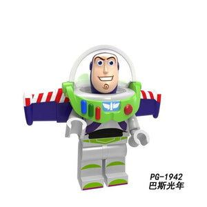 Robot 2019 Disney Toys Story 4 Action Figure 5cm Kids Toy Aliens Buzz Lightyear Building Blocks kids Toys for Children Children - Veve Geek