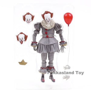 NECA Stephen King's It Pennywise PVC Action Figure Collectible Model Toy - Veve Geek
