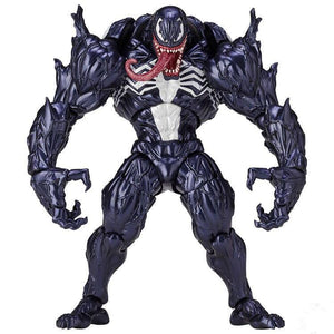 Marvel Character Venom in Movie The Amazing Spiderman BJD Figure Model Toys 18cm - Veve Geek