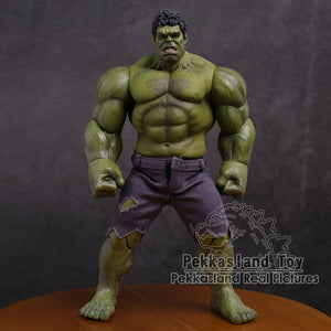 Marvel The Avengers Hulk Super Hero PVC Action Figure Collectible Model Toy 25cm - Veve Geek