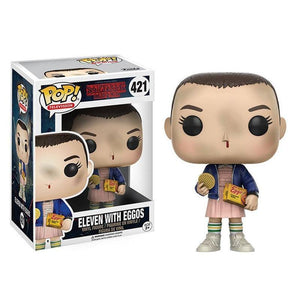 Funko POP Stranger things & little Eleven with eggos PVC Action Figure Boy toys for chlidren birthday Gift - Veve Geek