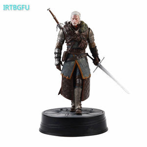 Dark Horse Deluxe The Witcher 3: Wild Hunt Geralt Grandmaster Ursine Witcher PVC Figure Action Toy Figures Collectible Figurine - Veve Geek