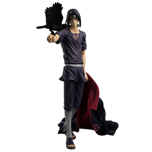 27cm Naruto Shippuden Uchiha Itachi Action Figures Anime PVC brinquedos Collection Model toys Free shipping AnnO00650N - Veve Geek
