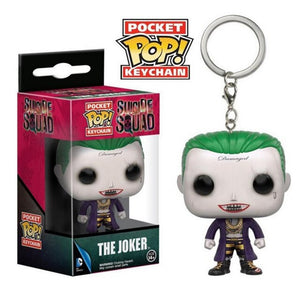 FUNKO POP New Pocket Pop Keychain Official Suicide Squad Harley Quinn Characters Action Figure Collectible Model Christmas Toys - Veve Geek