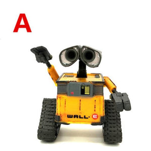 2018 New arrival Wall-E Robot Wall E & EVE PVC Action Figure Collection Model Toys Dolls  WITH BOX - Veve Geek