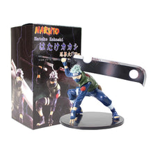 Load image into Gallery viewer, 14cm Naruto Shippuuden Hatake Kakashi Shinobi World War with Sword Ver. PVC Action Figure Collectible Model Toy Figurine - Veve Geek