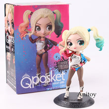 Load image into Gallery viewer, Q Posket Princess Doll Aurora Alice Anna Elsa Wonder Woman Harley Quinn Doll PVC QPosket Characters Figures Girls Toys Gifts - Veve Geek