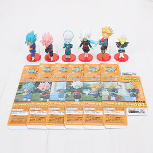 6pcs/set Dragon Ball Z 8cm Son Gohan Son Goku Majin Buu Kale Jiren Cell Frieza Gotenks Broly Piccolo Beerus WCF Figure Model Toy - Veve Geek