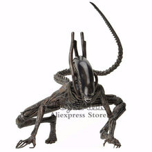 "Load image into Gallery viewer, ToysPark Aliens 7"" Scale Xenomorph Alien Action Figure Extendable Inner Mouth Covenant Moive Collectible 2017 NECA Alien Series - Veve Geek"