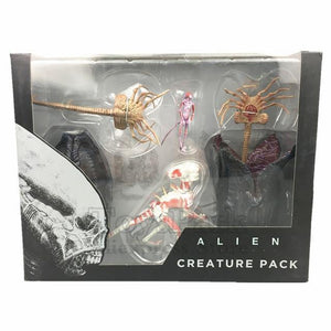 "ToysPark Aliens 7"" Scale Xenomorph Alien Action Figure Extendable Inner Mouth Covenant Moive Collectible 2017 NECA Alien Series - Veve Geek"