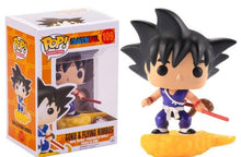 Load image into Gallery viewer, Funko Pop Amine Dragon Ball Son Goku Frieza Action Figure Super Saiyan Collectible Model Kids Toys - Veve Geek