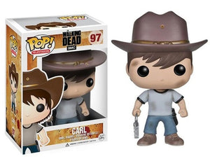 Funko Pop The Walking Dead Collection Model Kids Toys Rick Glenn Carl Figure Doll Toys - Veve Geek
