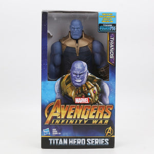 2019 29cm Marvel Captain the Avengers 4 Toys INFINITY WAR Thanos Action Figures TITAN HERO SERIES Figure Collectible Model Toy - Veve Geek