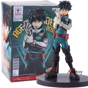 Banpresto Deku My Hero Academia Age of Heores Izuku Midoriya Figure PVC Anime Boku No Hero Academia Collectible Model Toy - Veve Geek