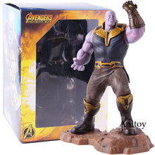 Load image into Gallery viewer, Marvel Avengers Infinity War Thanos Artfx+ Statue 1/10 Scale Pre-pained Thanos Avengers Endgame Figure Collectible Model Toy - Veve Geek