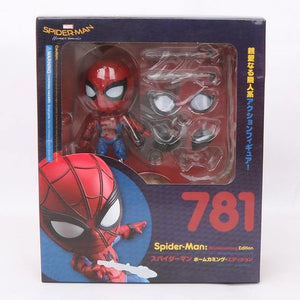 10cm Marvel Toys Nendoroid 1037 the Avengers Endgame Iron Spiderman PVC Action Figure Iron Spider Super Hero Collectible Model - Veve Geek