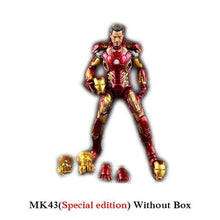 Load image into Gallery viewer, New Hot TheAvengers IronMan Action Figure Model 18-20cm MK42 MK43 Iron Man Doll PVC ACGN figure Toy Brinquedos Anime kids Toys - Veve Geek