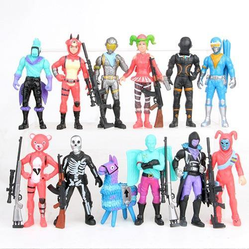 Fornite Battle Royale PVC Action Figures Llama Game Model Gun Weapons Figurines Collectible Dolls Kids Toys for Children Boys - Veve Geek