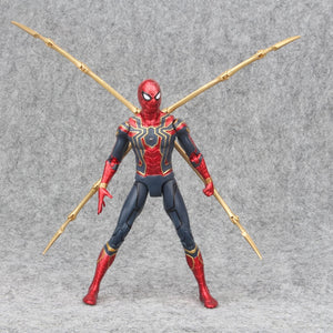 17cm Marvel 2019 the Avengers 3 Infinity War Iron Spider Man Amazing Spiderman Movable Action Figure model toys for Children - Veve Geek